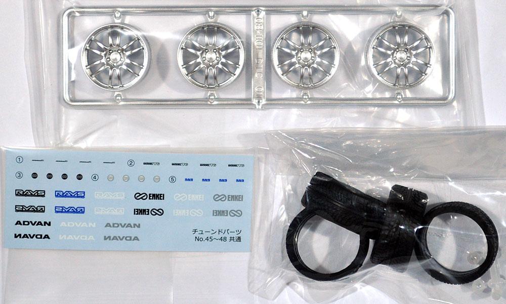 エンケイ GTC 01 19インチプラモデル(アオシマザ・チューンドパーツNo.047)商品画像_1