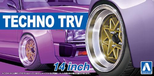 テクノ TRV 14インチプラモデル(アオシマザ・チューンドパーツNo.053)商品画像