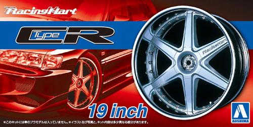 レーシングハート タイプCR 19インチプラモデル(アオシマザ・チューンドパーツNo.060)商品画像
