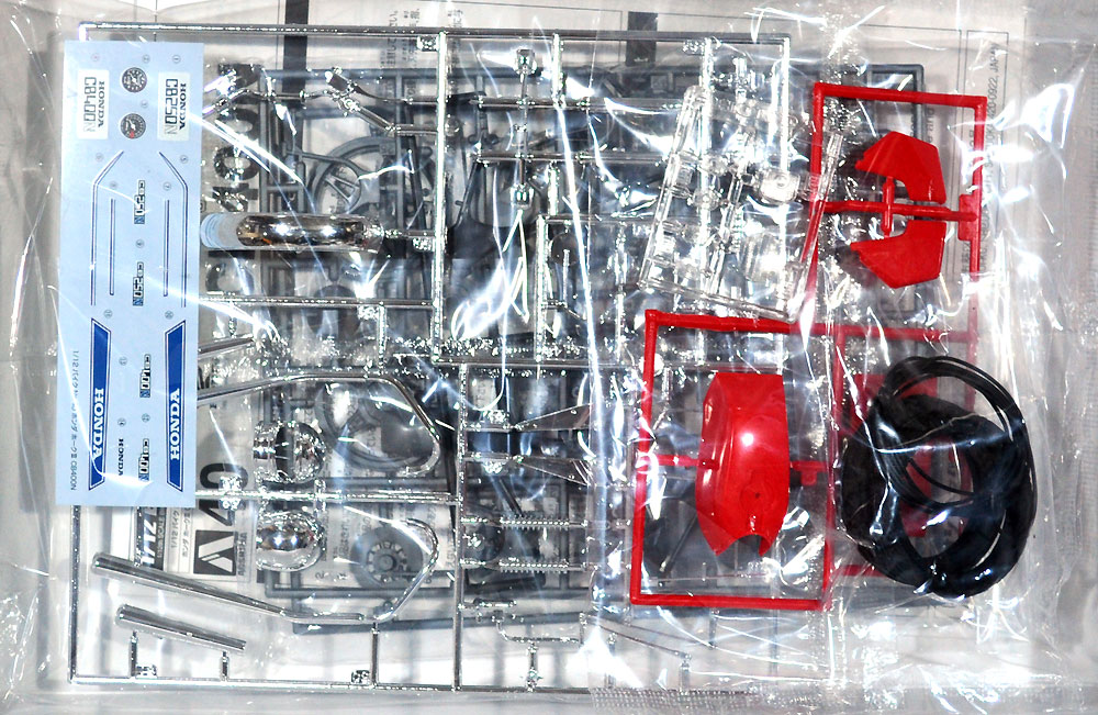 ホンダ ホーク 3 CB400Nプラモデル(アオシマ1/12 バイクNo.040)商品画像_1