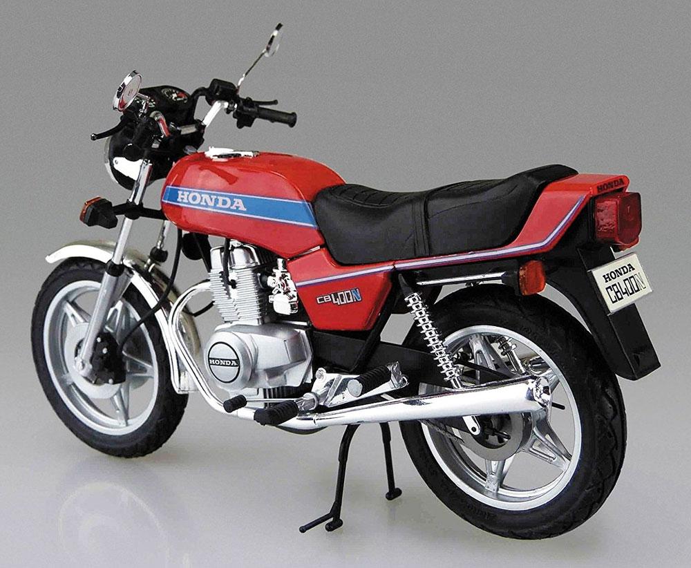 ホンダ ホーク 3 CB400Nプラモデル(アオシマ1/12 バイクNo.040)商品画像_3