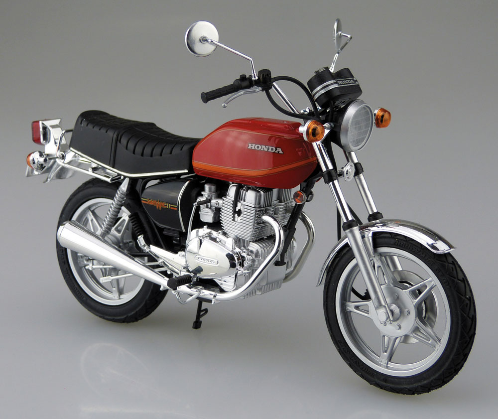 ホンダ ホーク 2 CB400T (1978)プラモデル(アオシマ1/12 バイクNo.042)商品画像_2