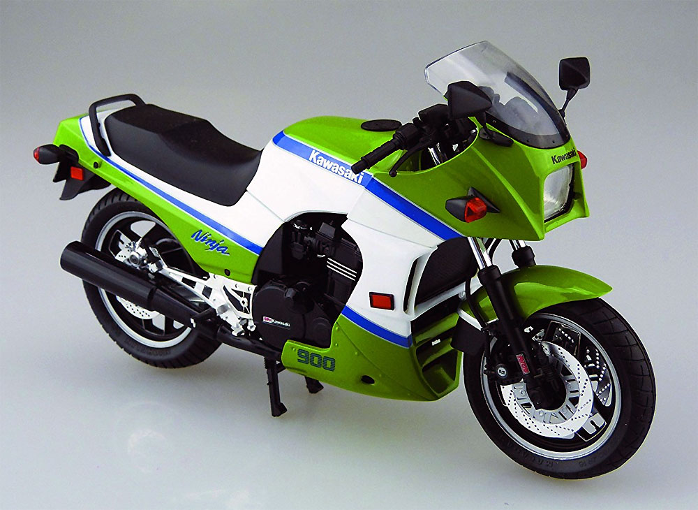 カワサキ GPZ900R ニンジャ A2型 (1985)プラモデル(アオシマ1/12 バイクNo.043)商品画像_2