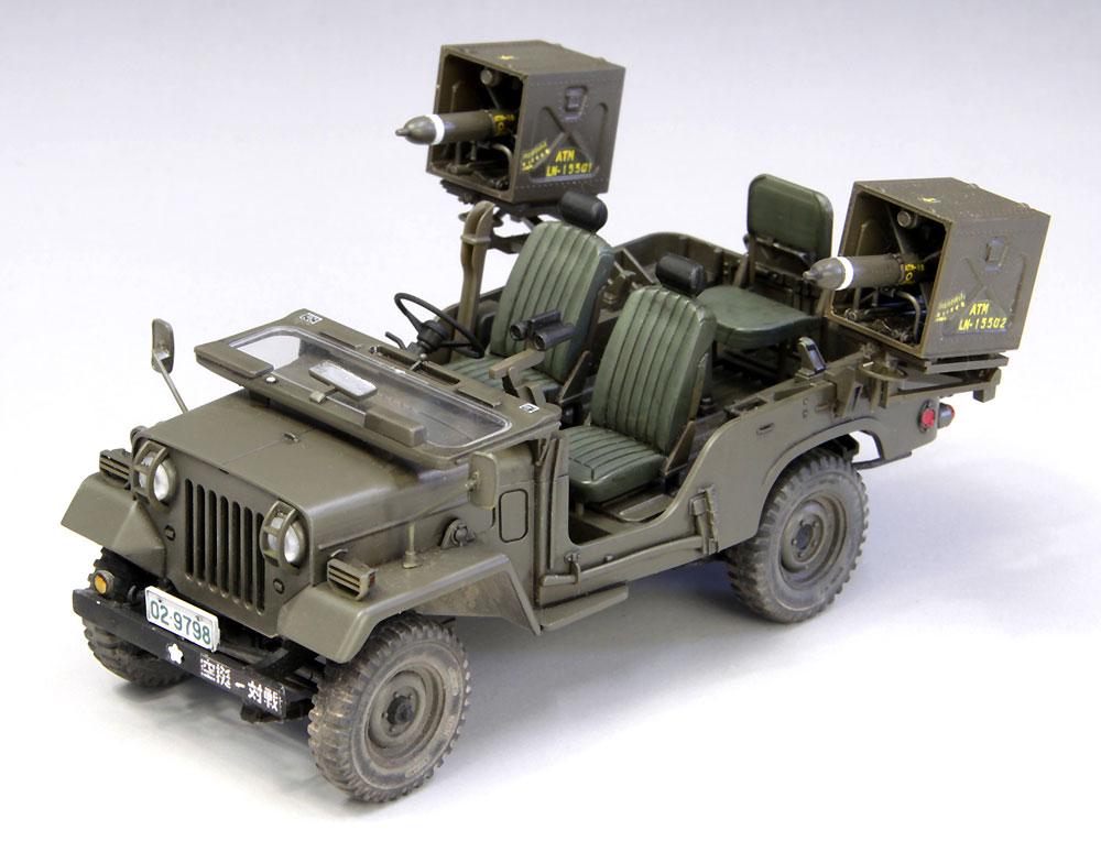 陸上自衛隊 73式小型トラック (MAT装備)プラモデル(ファインモールド1/35 ミリタリーNo.FM052)商品画像_2