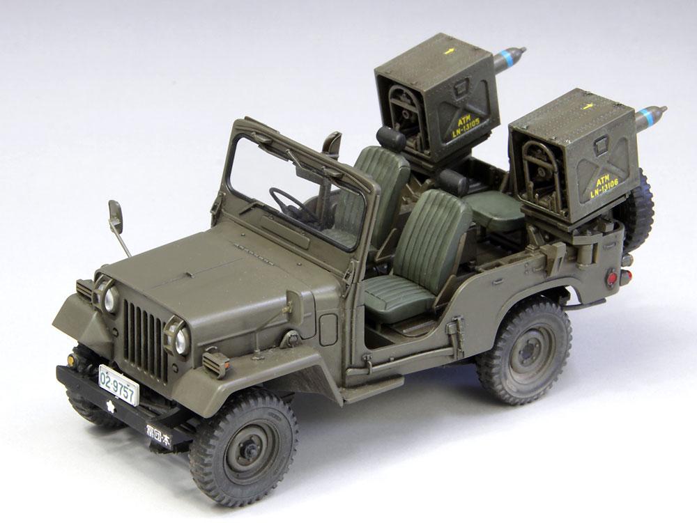 陸上自衛隊 73式小型トラック (MAT装備)プラモデル(ファインモールド1/35 ミリタリーNo.FM052)商品画像_3