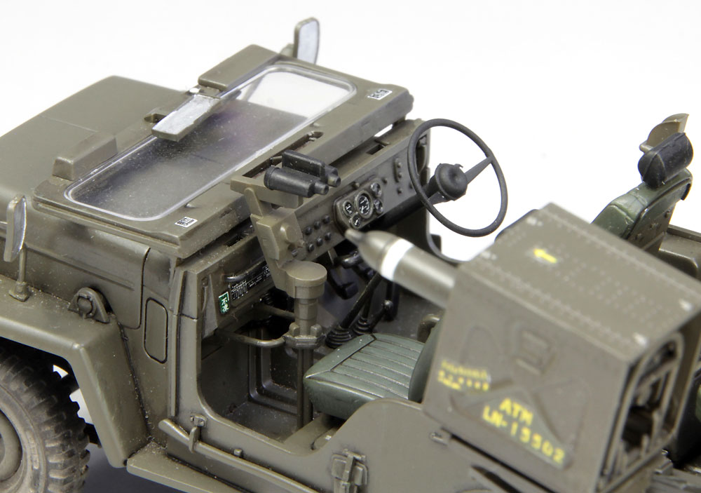 陸上自衛隊 73式小型トラック (MAT装備)プラモデル(ファインモールド1/35 ミリタリーNo.FM052)商品画像_4
