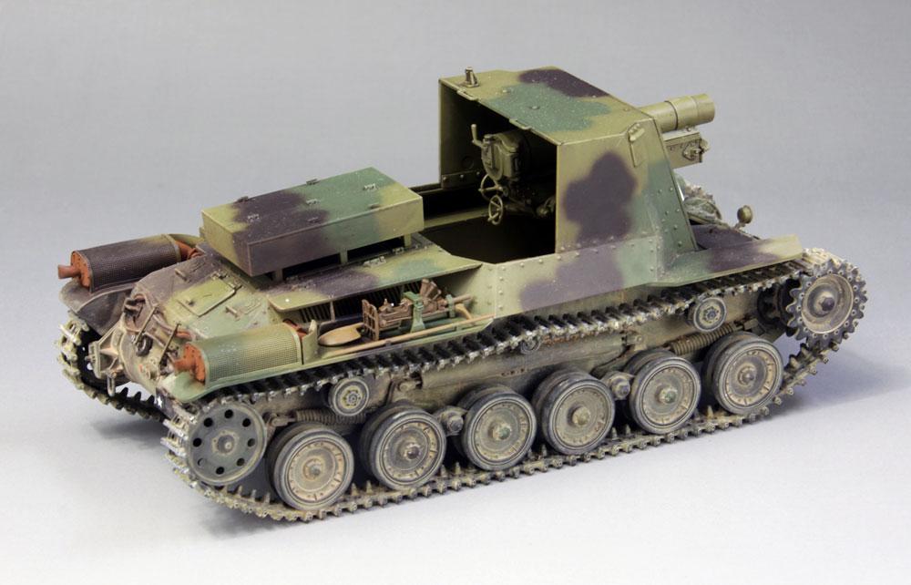 帝国陸軍 四式自走砲 ホロプラモデル(ファインモールド1/35 ミリタリーNo.FM054)商品画像_3