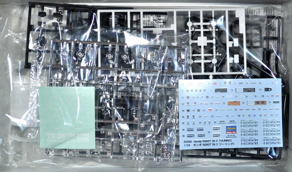 ホンダ N360T (N2 ツーリング)プラモデル(ハセガワ1/24 自動車 限定生産No.20300)商品画像_1
