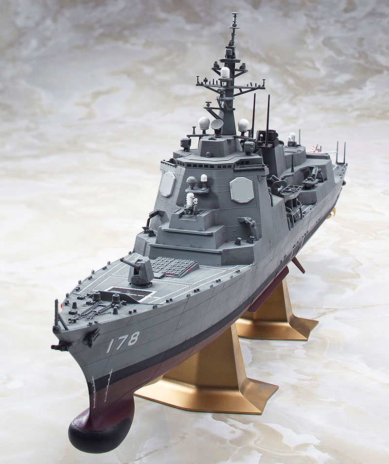 海上自衛隊 イージス護衛艦 あしがらプラモデル(ハセガワ1/450 有名艦船シリーズNo.40095)商品画像_4
