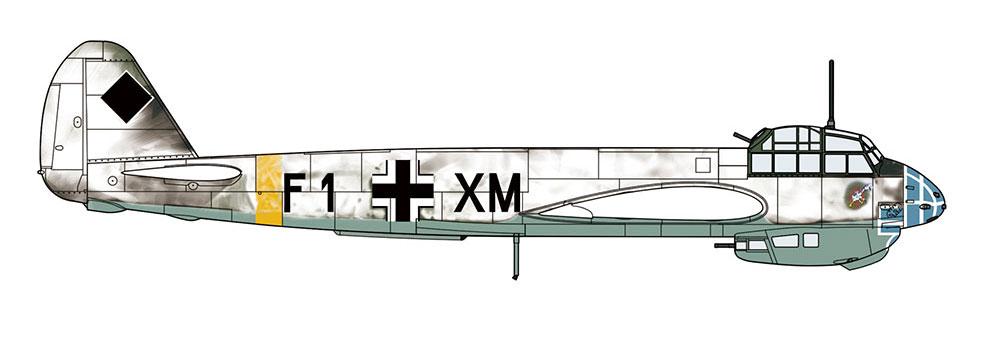 ユンカースJu88C-6 ツェルステラープラモデル(ハセガワ1/72 飛行機 限定生産No.02245)商品画像_3