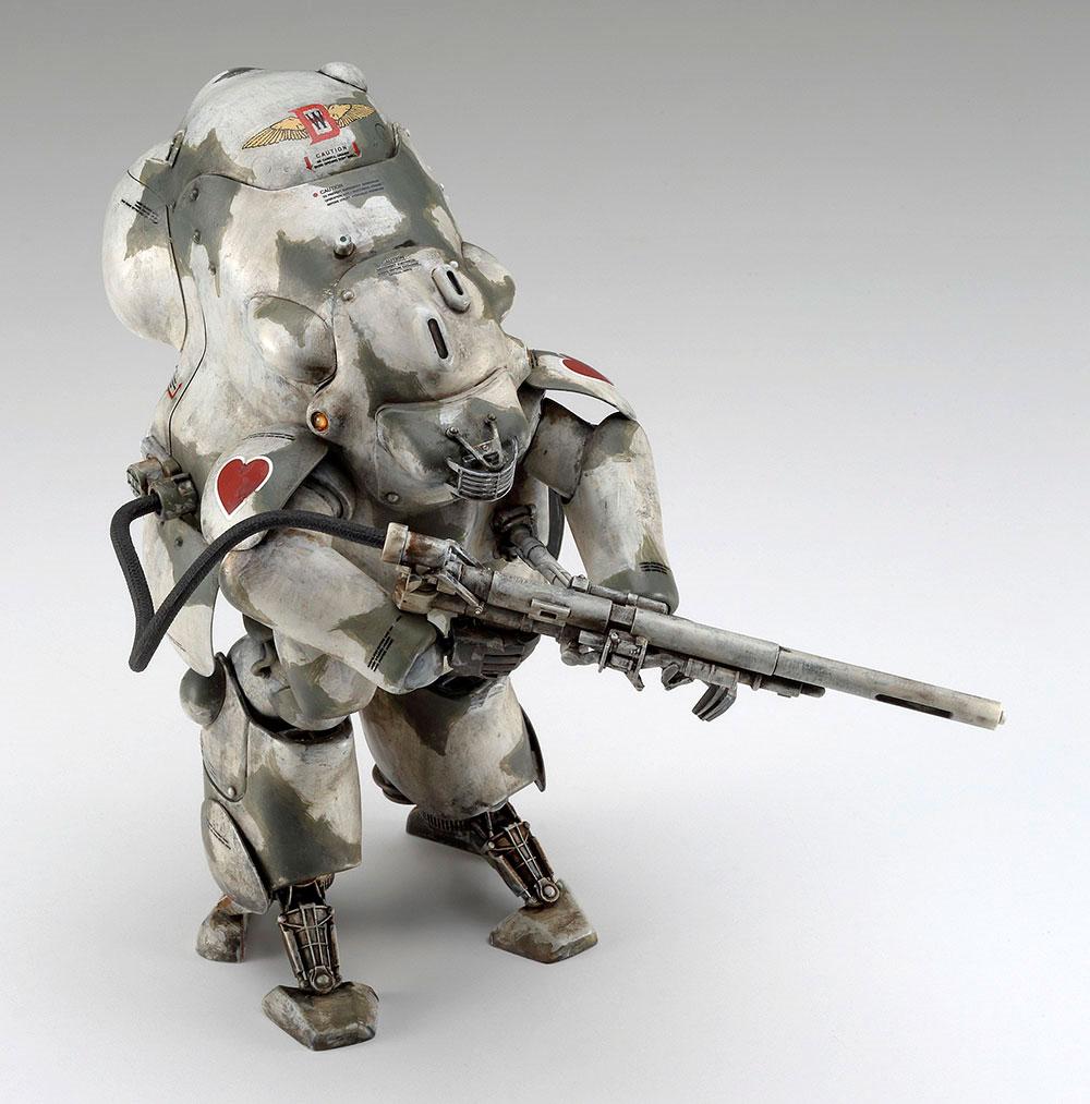 月面用重装甲戦闘服 MK44H-0 ホワイトナイト プロトタイププラモデル(ハセガワマシーネンクリーガー シリーズNo.64112)商品画像_4