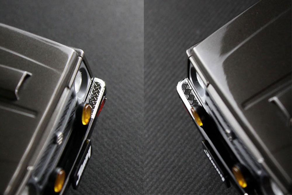 縞板フィニッシュ B (ミラー) (曲面追従金属光沢シート)曲面追従シート(ハセガワトライツールNo.TF926)商品画像_2