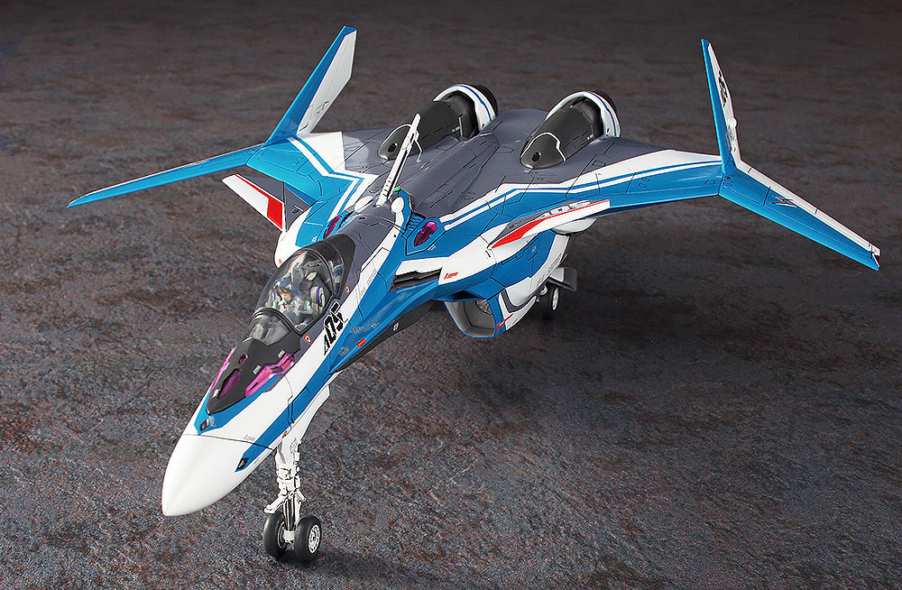 VF-31J ジークフリード ハヤテ機 マクロスΔプラモデル(ハセガワ1/72 マクロスシリーズNo.029)商品画像_3