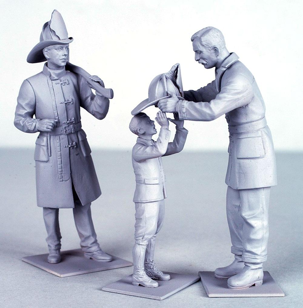 アメリカ消防士 (1910年)プラモデル(ICM1/24 フィギュアNo.24005)商品画像_3