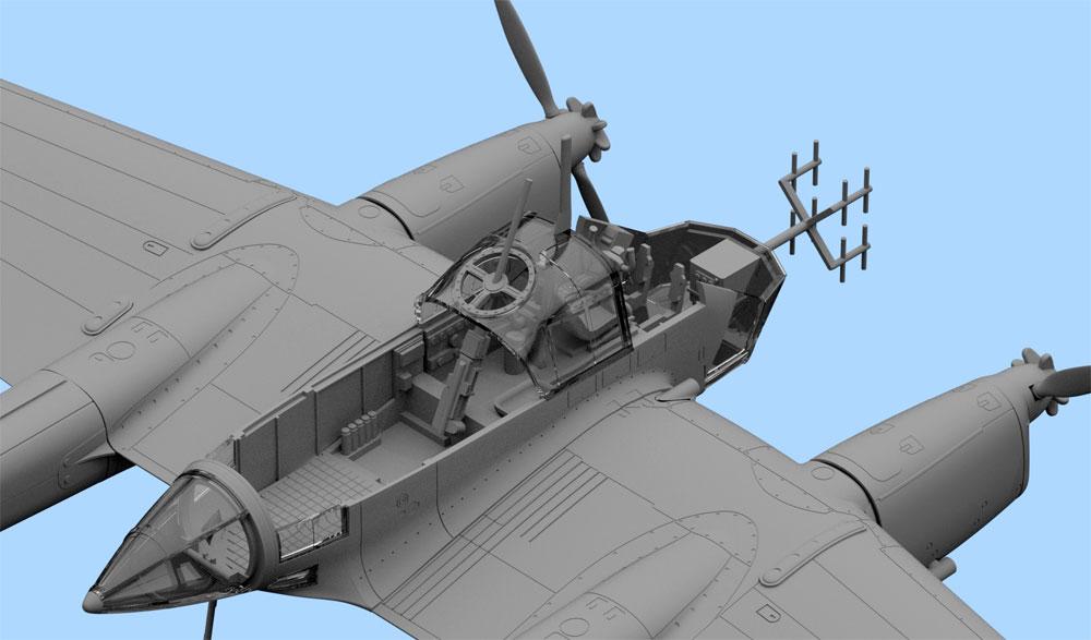 フォッケウルフ Fw189A-1 偵察機プラモデル(ICM1/72 エアクラフト プラモデルNo.72294)商品画像_2