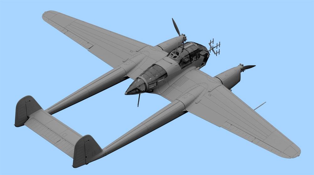 フォッケウルフ Fw189A-1 偵察機プラモデル(ICM1/72 エアクラフト プラモデルNo.72294)商品画像_3