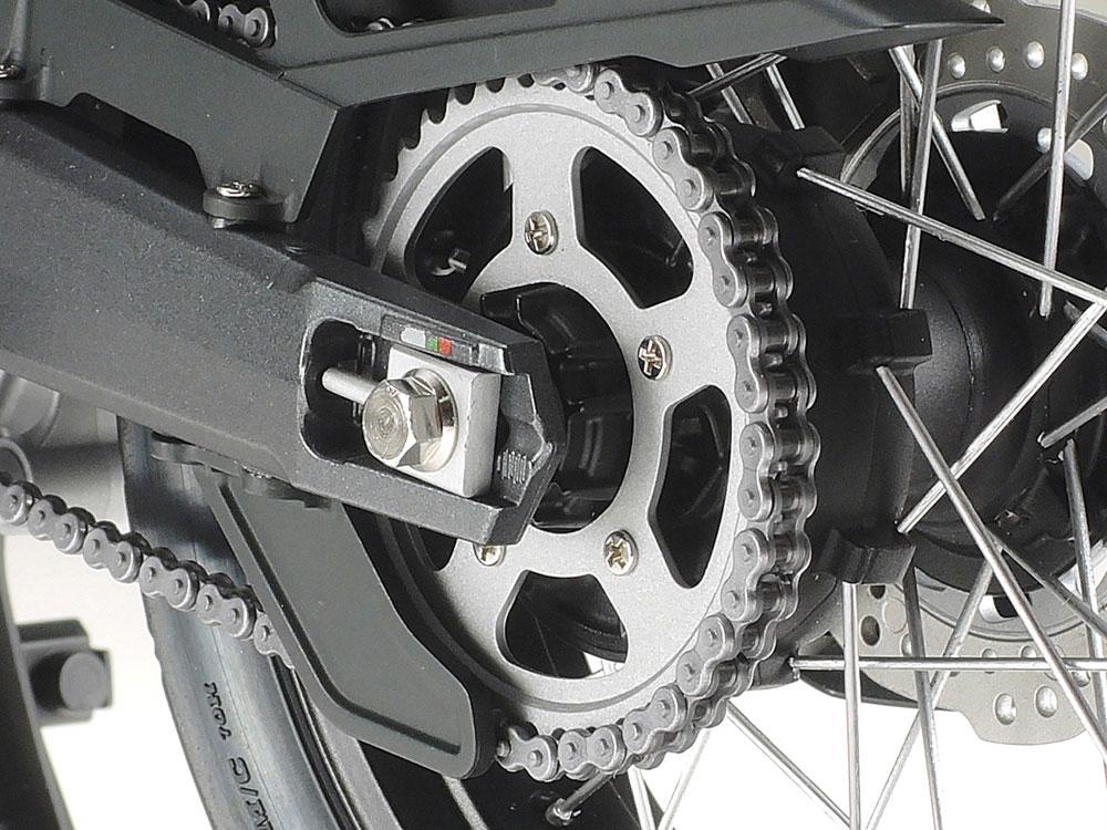 1/6 オートバイ用 組立式 チェーンセットプラモデル(タミヤディテールアップパーツシリーズ (オートバイモデル用)No.12674)商品画像_2
