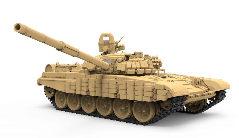ロシア 主力戦車 T-72B1プラモデル(MENG-MODEL1/35 ティラノサウルス シリーズNo.TS-033)商品画像_2