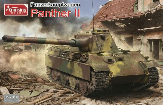 ドイツ 中戦車 パンサー2プラモデル(アミュージングホビー1/35 ミリタリーNo.35A018)商品画像