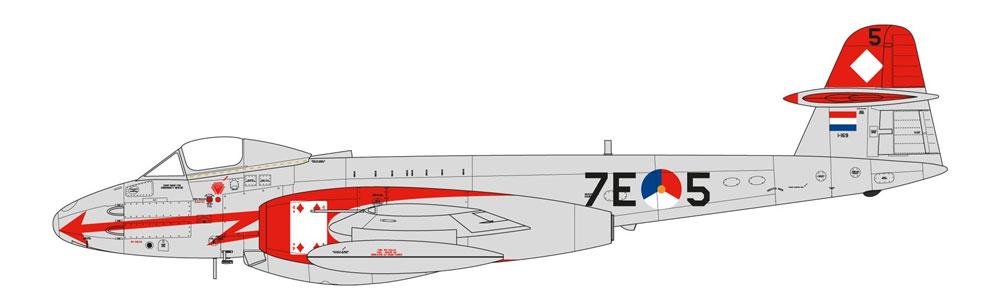 グロスター ミーティア F.8 朝鮮戦争プラモデル(エアフィックス1/48 ミリタリーエアクラフトNo.A09184)商品画像_4