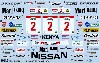 ニッサン 240RS #2 サファリラリー 1984 デカール