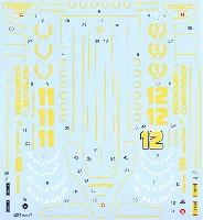 タブデザイン1/20 デカールロータス タイプ91 フルスポンサー