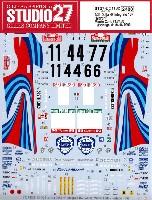 スタジオ27ラリーカー オリジナルデカールランチア デルタ HF インテグラーレ 16v マルティーニ モンテカルロ #1、#4、#7 / ポルトガル #1、#4、#6 1990