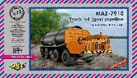MAZ-7910 トラック パイプライン運搬型