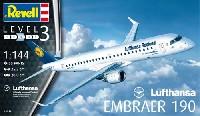 レベル1/144 旅客機エンブラエル 190 ルフトハンザ