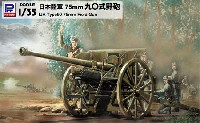 ピットロード1/35 グランドアーマーシリーズ日本陸軍 75mm 90式野砲