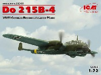 ICM1/72 エアクラフト プラモデルドルニエ Do215B-4 双発偵察機