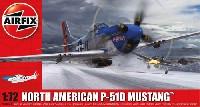 エアフィックス1/72 ミリタリーエアクラフトノースアメリカン P-51D ムスタング