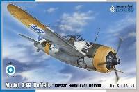 スペシャルホビー1/48 エアクラフト プラモデルB-239 バッファロー タイバーン ヘルミ