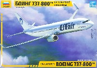 ズベズダ1/144 エアモデルボーイング 737-800