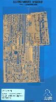 テトラモデルワークス艦船 エッチングパーツ日本海軍 航空母艦 龍驤 第2次改装後 ディテールアップセット (アオシマ用)