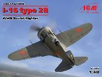 ICM1/48 エアクラフト プラモデルポリカルポフ I-16 タイプ28