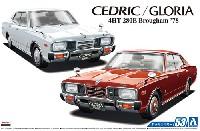 アオシマ1/24 ザ・モデルカーニッサン P332 セドリック / グロリア 4HT 280E ブロアム '78