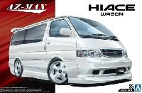 アオシマ1/24 ザ・チューンドカーアズマックス KZH100 ハイエース '99 (トヨタ)