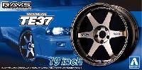 アオシマザ・チューンドパーツボルクレーシング TE37 19インチ