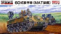 ファインモールド1/35 ミリタリー陸上自衛隊 60式装甲車 (MAT装備)