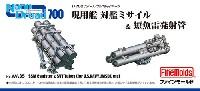 ファインモールド1/700 ナノ・ドレッド シリーズ現用艦 対艦ミサイル & 短魚雷発射管
