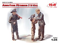 ICM1/24 フィギュアアメリカ消防士 (1910年)
