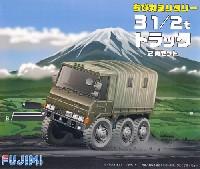 フジミちび丸ミリタリー3 1/2t トラック 2両セット
