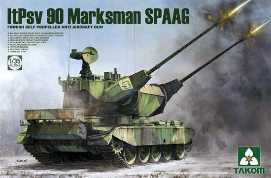 フィンランド軍 90式 マークスマン 対空戦車プラモデル(タコム1/35 ミリタリーNo.2043)商品画像