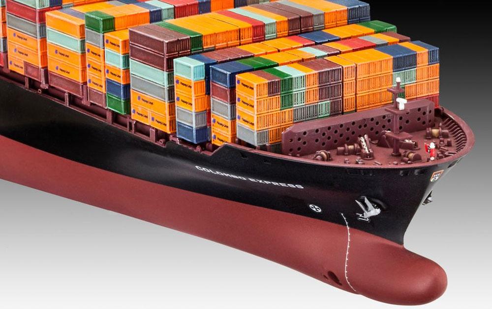 コンテナ船 コロンボ エキスプレスプラモデル(レベル1/700 艦船モデルNo.05152)商品画像_3