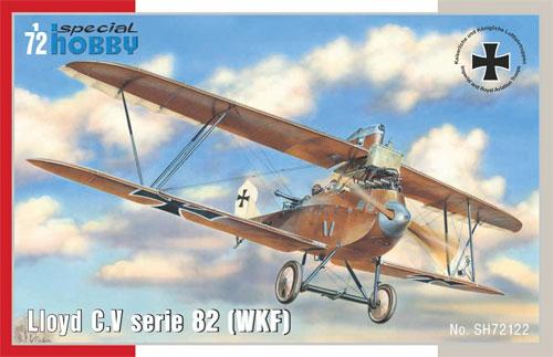 ロイド C.V シリーズ 82 (WKF)プラモデル(スペシャルホビー1/72 エアクラフト プラモデルNo.SH72122)商品画像