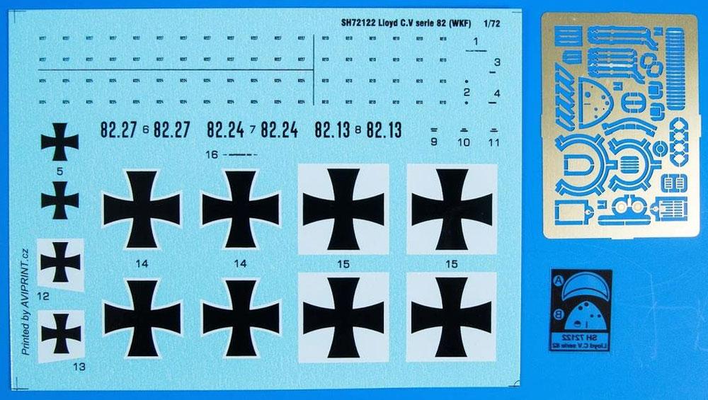 ロイド C.V シリーズ 82 (WKF)プラモデル(スペシャルホビー1/72 エアクラフト プラモデルNo.SH72122)商品画像_2