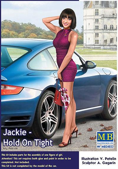 ジャッキー - ホールド オン タイト (デンジャラスカーブス シリーズ)プラモデル(マスターボックスピンナップ (Pin-up)No.MB24022)商品画像