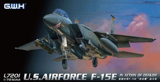 アメリカ空軍 F-15E ストライクイーグルプラモデル(グレートウォールホビー1/72 エアクラフト プラモデルNo.L7201)商品画像