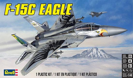 F-15C イーグルプラモデル(レベル1/48 飛行機モデルNo.85-5870)商品画像